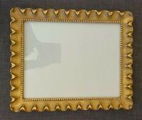 """Vintage Ornate Gilded Wood carved Frame 16 3/4"""" x 13 3/4"""""""