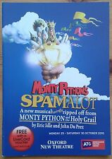 Monty Python's Spamalot programme Oxford New Theatre 2010 Marcus Brigstocke