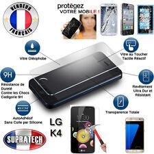 Protection d'Ecran en Verre Trempé Contre les Chocs pour LG K4