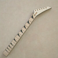 unfinished Maple guitar neck 24 Fret Maple Fretboard Jackson Style