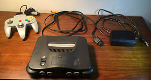 N64 Complete System with 1 Grey NINTENDO Controller *ORIGINAL SYSTEM*