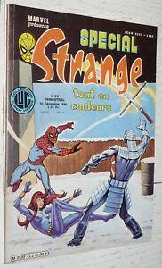PETIT FORMAT MARVEL LUG SPECIAL STRANGE EO N°22 1980 X-MEN SPIDERMAN CHOSE