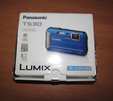 Panasonic LUMIX 16.1 MP Active Lifestyle Tough Camera DMC-TS30A HD Video (Blue)