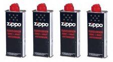 Zippo - Botes de gasolina para mecheros Zippo (4 unidades, 125 ml)