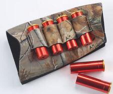Neoprene Buttstock Rifle 4 Cartridge Holder 12GA Ammo Rifle Gun Bullet Carrier