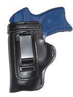 "S&W M&P 9, 40, 45 Full Size 4.5"" Gun Holster HD RH OWB Black Leather"