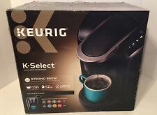 Keurig K-Select K80 Matte Black Single Serve Coffee Maker 52oz Reservoir New