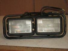 Polaris Scrambler 1996 4x4 headlights head lights with bracket dual lamp