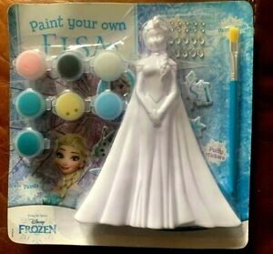 DISNEY Frozen  Princess Paint Your Own Princess Elsa - New and Sealed