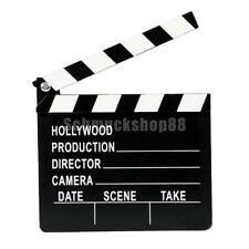 Clapperboard Filmklappe Regieklappe 27.5x30cm Film Slate Regie-Klappe Klappe