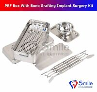 Smile PRF Box System Platelet Rich Fibrin Set With Bone Grafting Implant Surgery