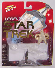 JL Legends of StarTrek - Series 2 Red Alert! - KLINGON D7 BATTLECRUISER CLOAKED