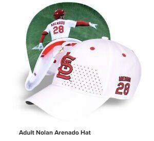 CARDINALS ADULT NOLAN ARENADO HAT 9/19/2021 SGA BASEBALL CAP ST LOUIS