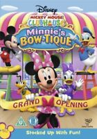 Nuovo Mickey Mouse Clubhouse - Minnie Bow-Tique DVD