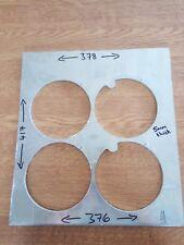 Aluminium Sheet 417 x 378/376 x 5mm Thick