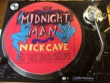 "12""  VINYL RECORD FELT SLIPMAT  NICK  CAVE AND THE BAD SEEDS  MIDNIGHT MAN"