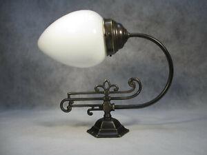 Berliner Messing Wandleuchte Vintage Messing Wandlampe Jugendstil Lampe Nr.2