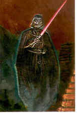 Star Wars Finest Embossed Foil Cards F1 Darth Vader