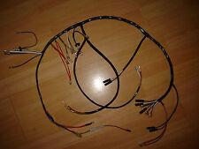 BSA A50 A65 500cc 650cc 1971 to 1972 Oil in Frame Main Wiring Loom New Cloth
