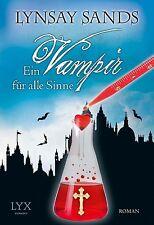 Ein Vampir für alle Sinne  Lynsay Sands  Taschenbuch ++Ungelesen ++