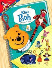 2001 McDonalds Book of Pooh MIP Complete Set - Lot of 8, Boys & Girls, 3+