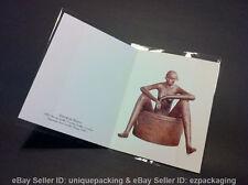 100 8 7/8 x 5 15/16 A2+ Clear Card Poly Cello Cellophane Jacket Sleeve Bags (J)