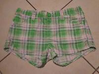 H&M Shorts/Hose/Hot Pants Gr.152 11-12 Jahre kariert TOP neuwertig