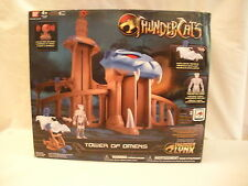 NEW THUNDER CATS TOWER OF OMENS WITH EXCLUSIVE VEHICLE & CLEAR TYGRA FIGURE