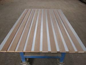 10 dünne Buchenleisten (€3,92/m) Buche 10x50x1020mm gehobelt Fußleisten