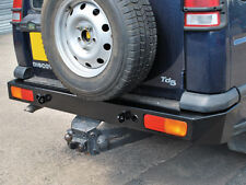 Land Rover Discovery 2 Heavy Duty Rear Bumper with Recovery Eyes  DA5646