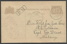 Netherland Indies 1927  PC Pasoeroean to Malang