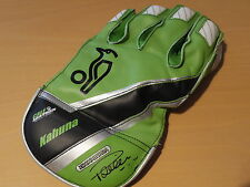 Signed Paul Nixon Wicket Keepers Glove - Proof