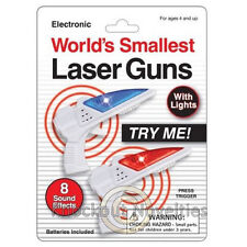 World's Smallest Laser Gun Sound Effects Shoot Game Action Light Up Shooting