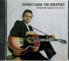 Johnny Cash: The Greatest One Hour Radio Special, 54:00 Version; Pr-Only CD