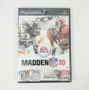 Playstation 2 (PS2) Madden NFL 10 - NEW SEALED