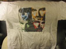 Original 1997 U2 Pop Grey T Shirt Xl By Polygram
