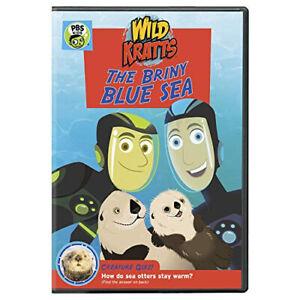 Wild Kratts: The Briny Blue Sea DVD - DVD - Free Shipping. - New