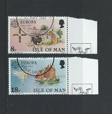 Isle of Man IOM Fine Used FU 1981 Europa Folklore Cow Yacht