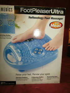 HOMEDICS Foot Pleaser Ultra ( WITH HEAT ) Model FP-2000 Foot Massager New In Box
