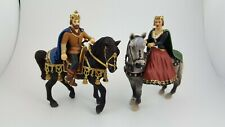 Schleich 2005 Knight King Queen on Horse ACTION FIGURES Germany