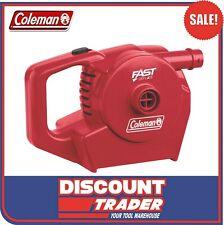 Coleman Quickpump 12v 240v High Volume Rechargeable Air Pump Inflator 1478173