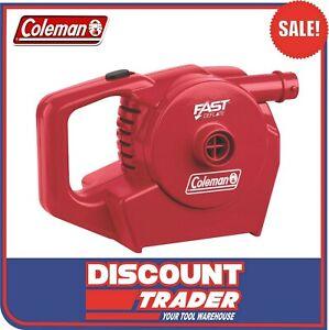 Coleman QUICKPUMP™ 12V 240V High Volume Rechargeable Air Pump Inflator 1478173