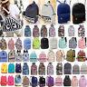 Womens Girls Canvas Vintage Backpack Rucksack College Travel Shoulder School Bag