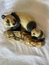 Vintage Bossons Congleton England Wall Bust Panda's Panda Bears