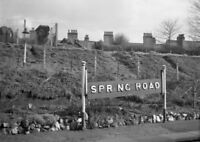 PHOTO  LMS SPRING ROAD RAILWAY STATION NAMEBOARD