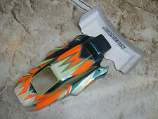 Vintage RC Losi TLR 22 Buggy Mid body and Wing Custom Painted Used