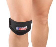 Patella Tendinitis Knee Brace Jumpers Runners Basketball Strap Support Band NEW