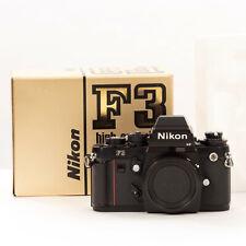 Nikon F3 High Eye Point 35mm Film SLR with Original Box Clean Vintage