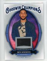 2020 Ben Simmons Jersey Upper Deck Goodwin Champions Memorabilia