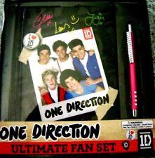 1D One Direction Ultimate Fan Set - Rhinestone Pen & Fan Book w/Stickers